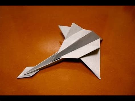 Origami Fighter - origami jet fighter