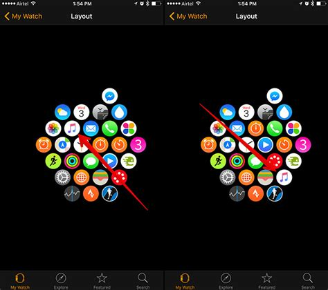 apple watch app layout on iphone how to rearrange app icons on apple watch to get the most