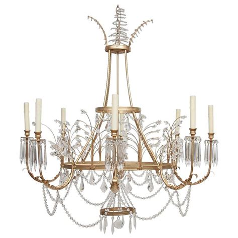 Swedish Chandeliers Niermann Weeks Swedish Chandelier At 1stdibs