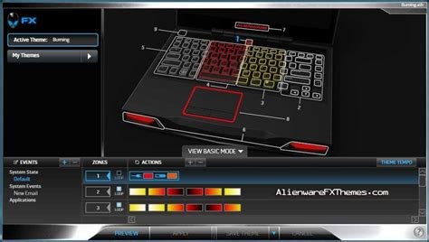 alienware keyboard themes download burning m14x theme alienware fx themes