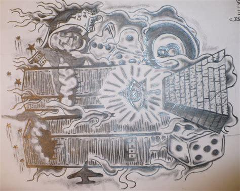 illuminati tattoo flash by cbailey23 on deviantart