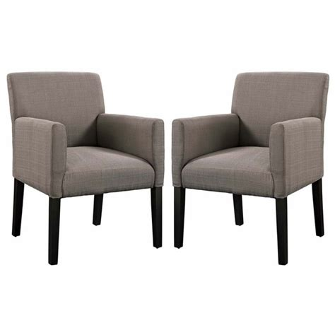chloe armchair set of 2 modern in designs