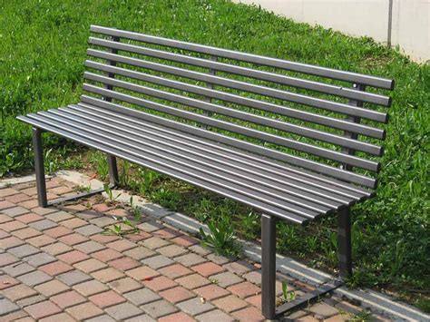 panchina per giardino panchina da giardino in acciaio 5201