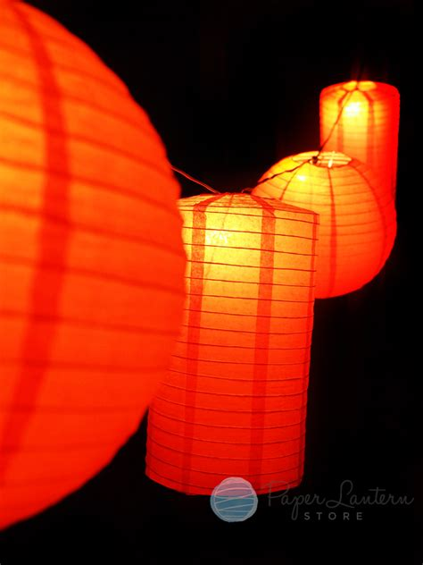 paper lantern string light new year paper lantern string light combo ebay