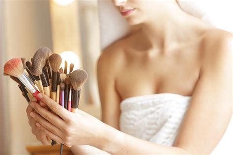 how to clean how to clean your makeup brushes and how often you should do it wstale