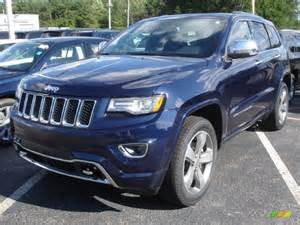true blue pearl 2014 jeep grand overland 4x4