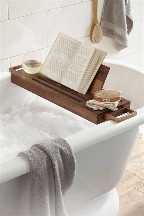 Bathtub Caddies | 22 cool bathtub caddies or marvelous bathtub tray design