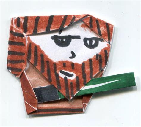 Origami Qui Gon Jinn - origami qui gon jinn instrux origami yoda