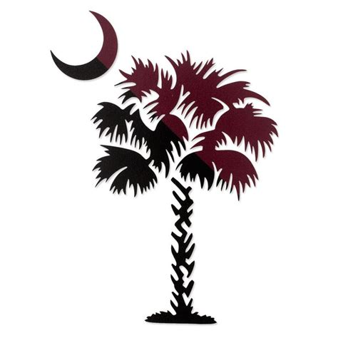 gamecock clip art usc south carolina palmetto tree decal