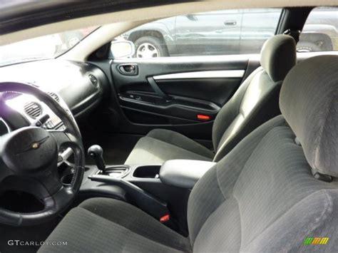 black interior 2004 chrysler sebring limited coupe photo
