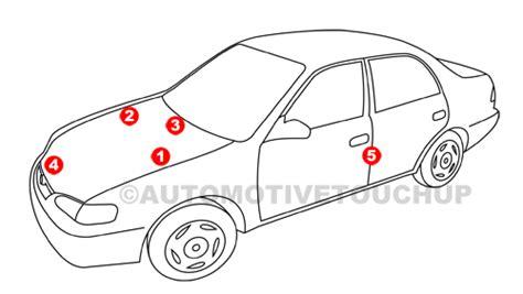 volvo paint code locations touch  paint automotivetouchup