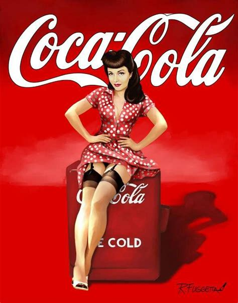 coca cola pin up most beautiful pin ups pinterest