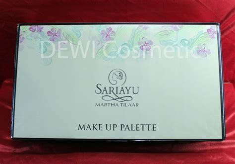 Harga Sariayu Foundation jual complete make up palette sari ayu dewicosmetic