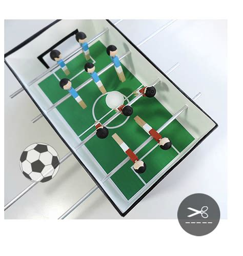 How To Make A Table Football Out Of Paper - 5 amazing toys you can make with cardboard petit small