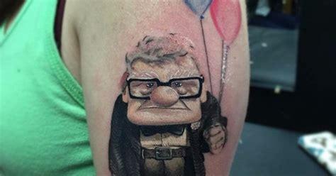 imagenes de tattoos geniales 161 cu 225 nta raz 243 n tatuajes geniales inspirados en pixar