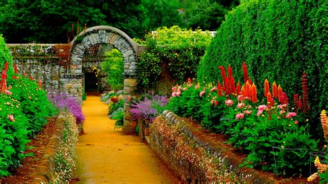 gardening photos garden path wallpaper hd latest wallpapers
