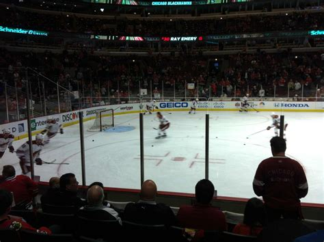 united center section 113 great seats close to the action united center section