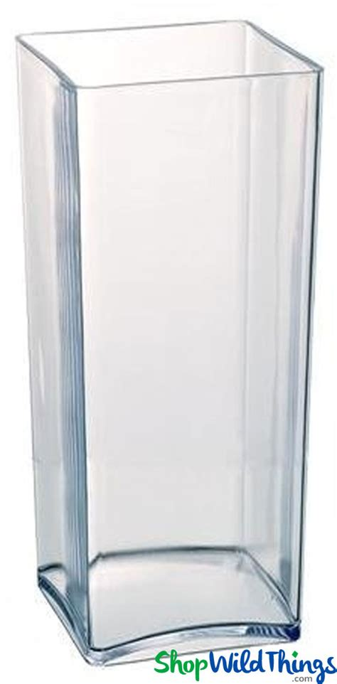 Acrylic Vases by Acrylic Vase Rectangle Square Shape 18 Quot X 5 Quot For