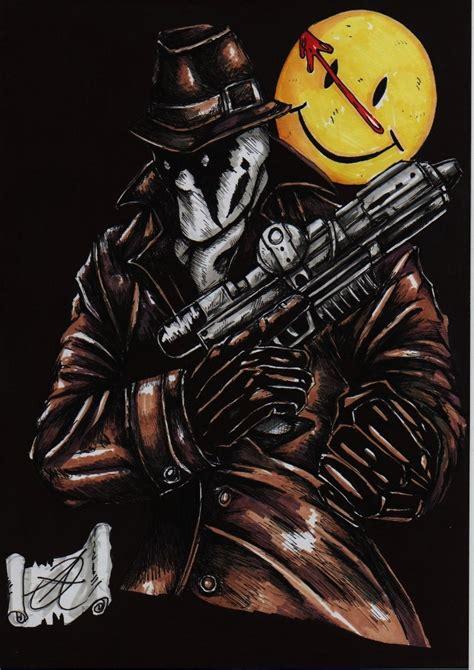 watchmen art of the watchmen rorschach by darkartistdomain on