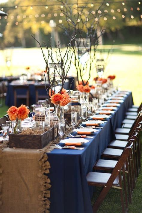 blue and orange decor orange pink lotus events
