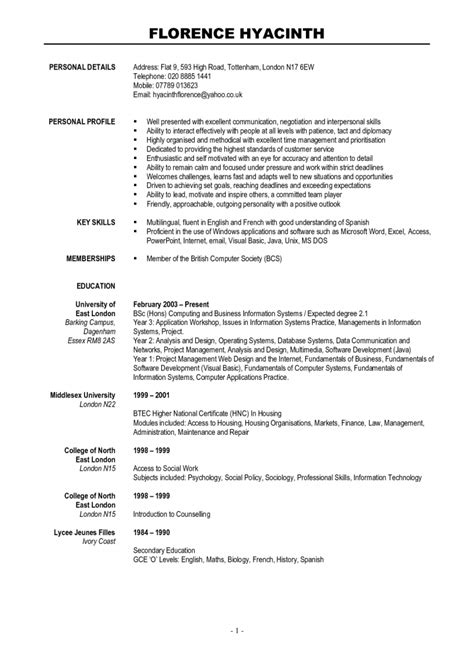 Resume Templates Word by Resume Template Curriculum Vitae Cv Sles Fotolip Rich Image And Wallpaper Throughout