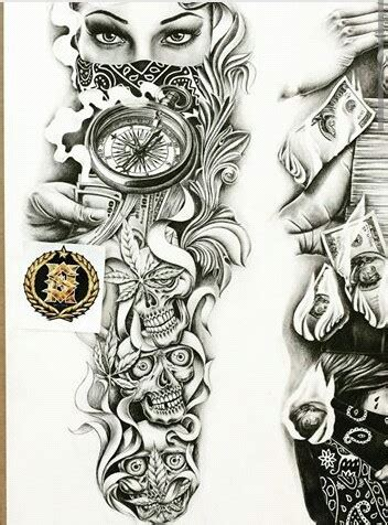 chicano sleeve tattoo designs chicano arte chicano pride chicano