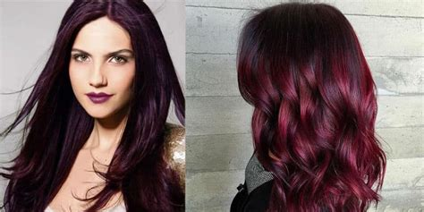 cherry hair color best black cherry hair color 2018 we the top products