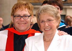 elton john parents elton john s mum and his lookalike talk about their close