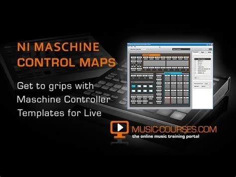 Controlling Ableton Live With Maschine New Controller Editor Template Guide Youtube Maschine Ableton Template