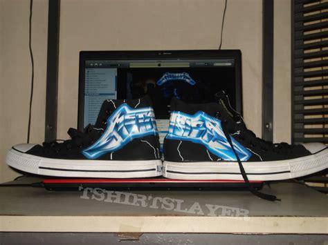 metallica ride the lightning shoes metallica ride the lightning converse chuck shoes