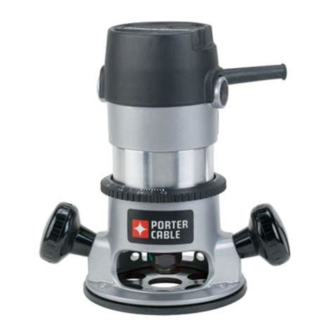 porter cable 11 1 75 hp fixed base router kit 9690lr