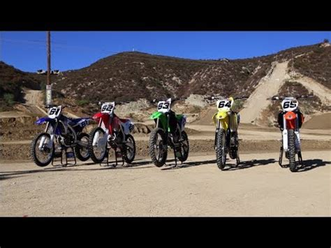 motocross action 450 shootout motocross action s 2014 450 shootout youtube