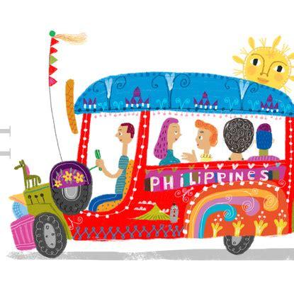 philippines jeepney clipart philippine jeepney art print philippines pinterest
