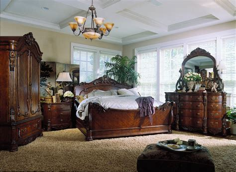 pulaski bedroom furniture sets pulaski edwardian sleigh bedroom collection b242170