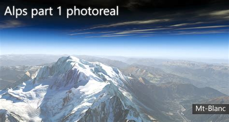 Misadventure In The Alps Part I by Alps Part 1 Photoreal A Sky Story