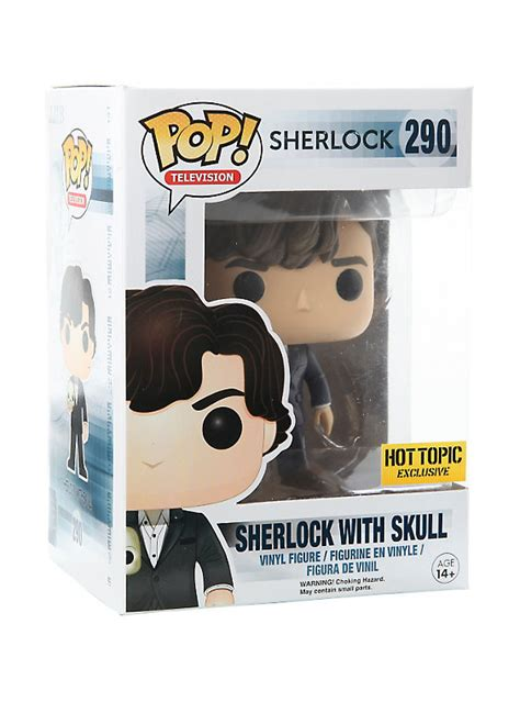 Funko Pop Vinyl Figure Topic Exclusive funko sherlock pop television sherlock with skull vinyl figure topic exclusive topic