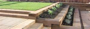 tanalised and reclaimed railway sleepers from huws gray