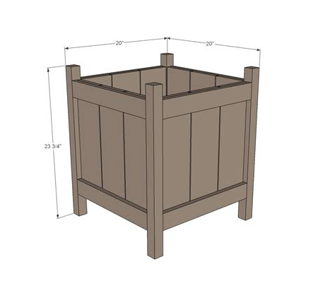 Wood Planter Box Plans Free by Cedar Planter Woodworking Plans Woodshop Plans
