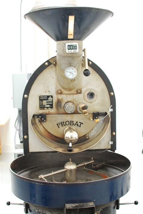 Probat Coffee Roaster caffe luxxe grows il laboratorio in gardena food gps