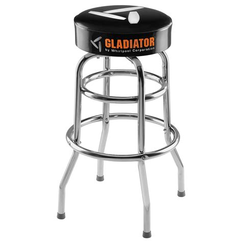 Black Parts In Stool by Chrome Legged Work Stool Casually Comfortable Work
