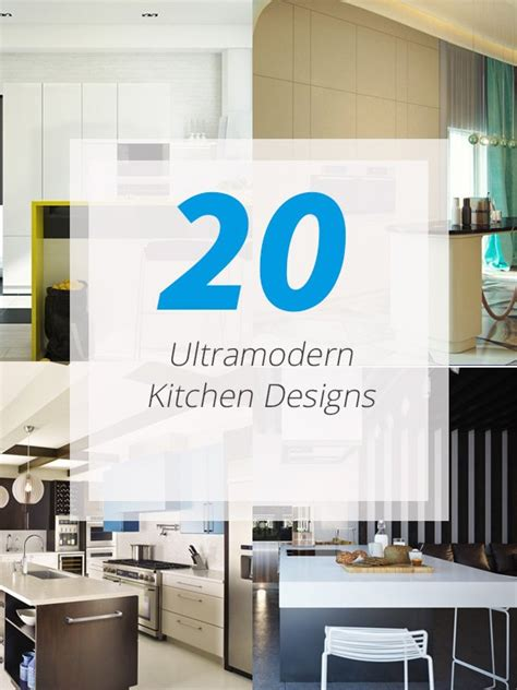 20 ultra modern kitchens every cook would to own - Ultra Modern Kitchen
