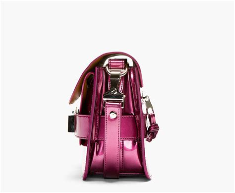 Proenza Pink by Proenza Schouler Bordeaux Pink Leather Ps11 Mini Classic