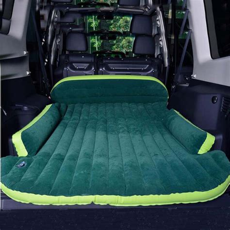 suv car mattress seat travel bed air mattress with air outdoor cing moisture