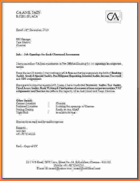 Cover Letter Format Standard 6 Standard Application Format Sales Report Template