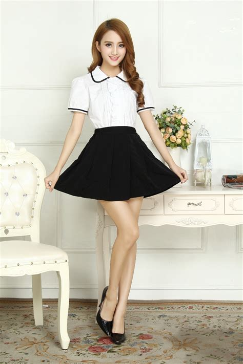 Set Nazla Mini Dress Korea 1set autumn korean version of the school uniforms