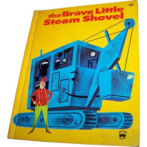 my shovel books the brave steam shovel book c 1975 from