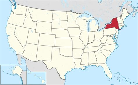 map usa new york state file new york in united states svg