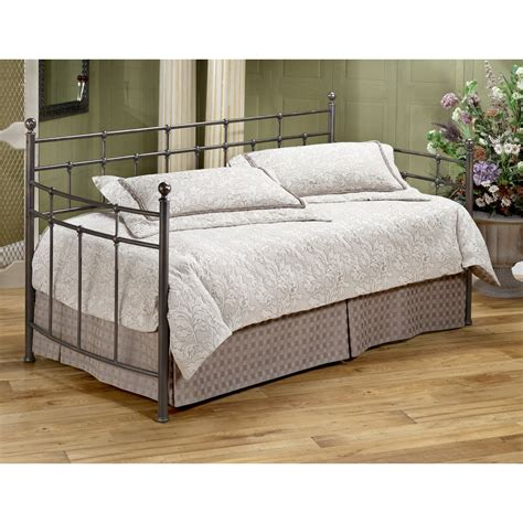 Free Futon Mattress by Hillsdale Providence Metal Daybed Daybeds At Hayneedle