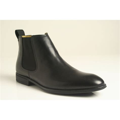 steptronic ford s chelsea boot in high grade black