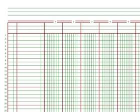 Bookkeeping Paper Template by The Vantage Point From Ledgers To Electronic Spreadsheets